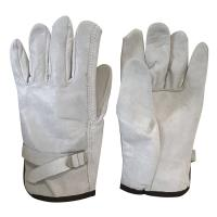 77-258 - Leather Gloves with strap