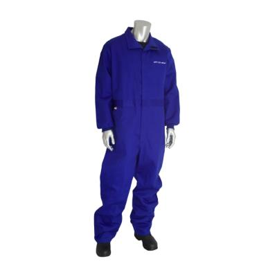 AR/FR Certified Coverall With Vented Back (Royal Blue)