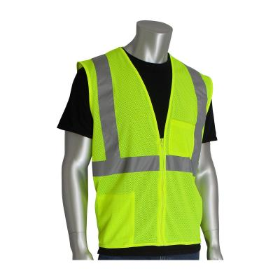 Class 2 Two Pocket Value Mesh Vest