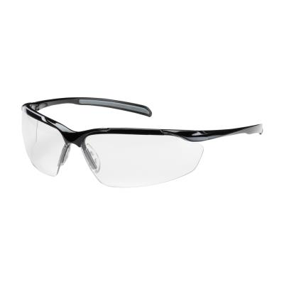 Commander Semi-Rimless Clear Safety Glasses