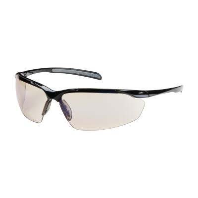 Commander Semi-Rimless Safety Glasses Smoke
