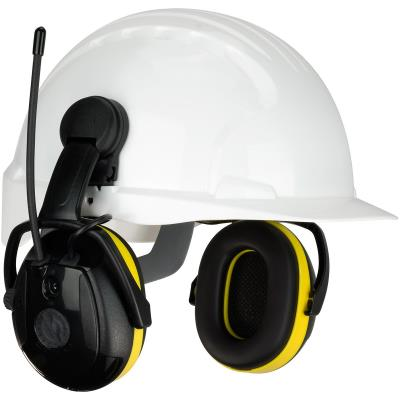 Relax Cap Mounted Ear Muffs With AM/FM Radio