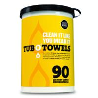 TW-90 - Tub O' Towels 90 count